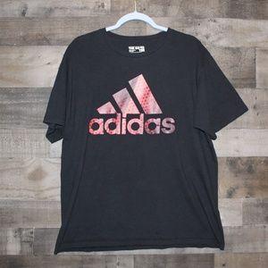 Men's Adidas Graphic Tee Black